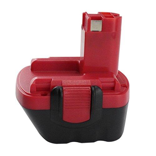 Electropan 3000mAh 12V Cordless Power Tool Drill Replacement Battery for Bosch 26073 35249 BAT043 BAT045 BAT046 BAT049 BAT120 BAT13 2607335261 2607335273 2607335414 2607335 541