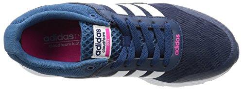 Adidas Cloudfoam Vs City W, Scarpe da Ginnastica Donna, Blu (Azumis/Ftwbla/Rosimp), 36 EU