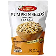 Pumpkin Seeds Oven Roasted with Sea Salt (1 Bag) by PREMIUM ORCHARD