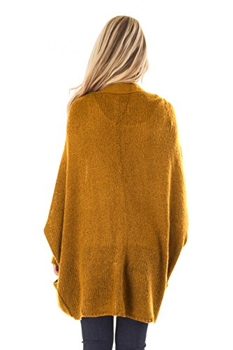 (ラボーグ)La Vogue レディース カーディガン ニット セーター ロング丈 長袖 コート トップス ゆったり ジャケット ケーブル編み 厚手 通勤 学生