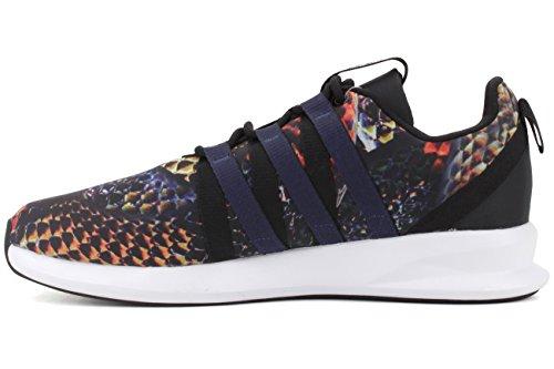 Adidas Originals Menns Sl Sløyfe Racer Blonder-up Sneaker Svart / Indigo / Hvit