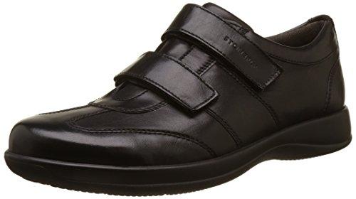 Uomo Stonefly 28 III Black Season Nero Sneaker Nappa 7x7XT