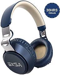 Bluetooth ヘッドホン スライド操作 低音強化