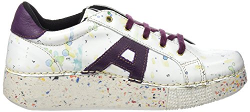 ART 1135 Fantasy I Express, Zapatos de Cordones Derby Unisex Adulto Blanco (Multi White)
