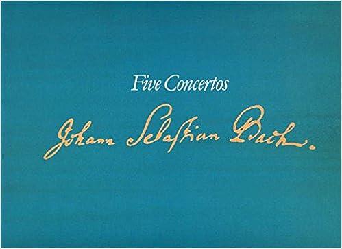 Organ Music of J.S. Bach: Five Concertos