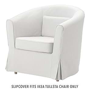ikea ektorp tullsta armchair cover blekinge white home kitchen. Black Bedroom Furniture Sets. Home Design Ideas