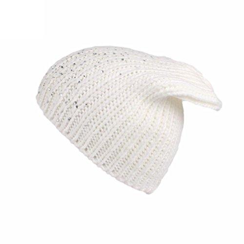 Turban Retro Fitted Head Cover Wrap Hat Cap Hair Loss (white) - 1