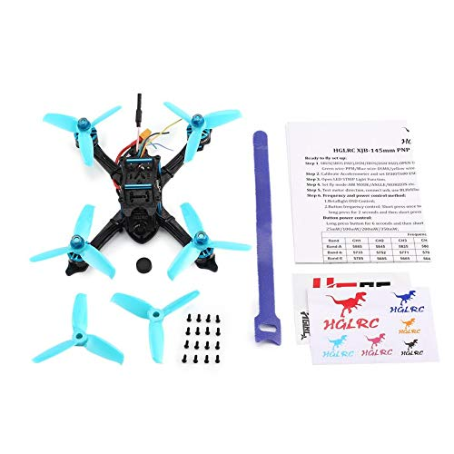 Wikiwand HGLRC XJB-145 145mm Micro RC Racing Drone 5.8G FPV 600TVL Camera CCD OSD PNP by Wikiwand (Image #6)