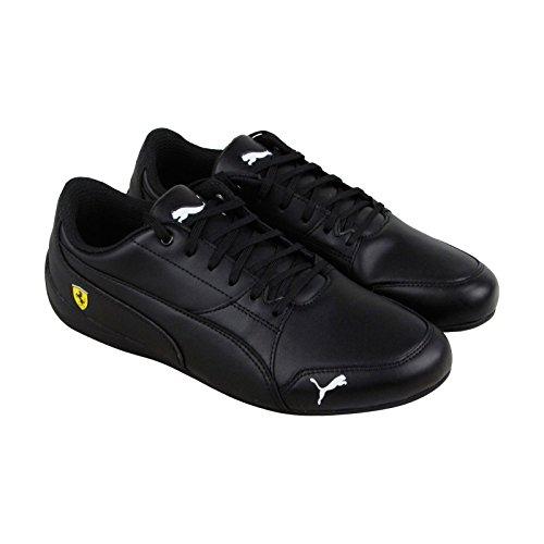 PUMA Men's Ferrari Drift Cat Sneaker, Black Black, 9 M (Puma Mens Ferrari)