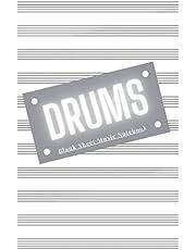 Drums: Blank Sheet Music Notebook 6x9 (15.24 x 22.86 cm)
