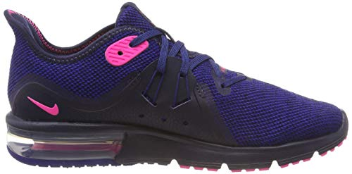 Nike MAX Deep Running Royal Zapatillas Blast Mujer para 3 Azul 403 Obsidian Pink de Sequent Air CCOw5qrS
