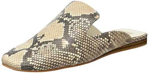 Dolce Vita Women's Brie Mule, Snake Print Embossed Leather, 8.5 M US