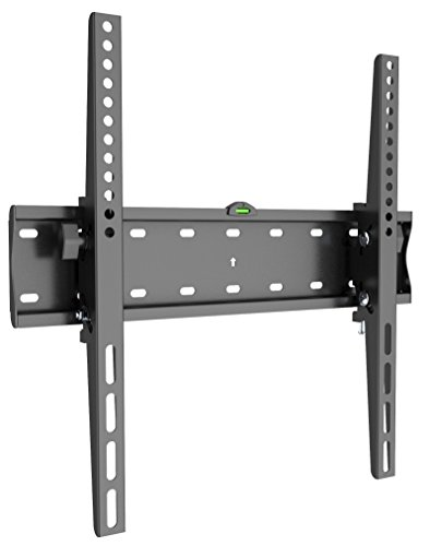 Husky Mount Tilting Flat Slim TV Wall Mount Bracket Fits Most 32 40 42 46 47 50 52 55 other LED LCD Flat Screen Max VESA 400X400 or 16 X16 Pattern please measure distance between TV holes Studs