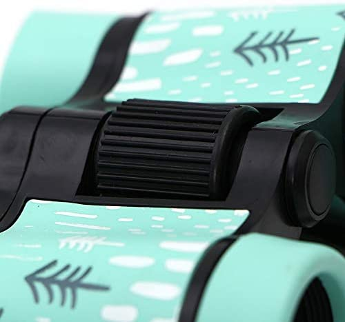 Fauge Jumelles 4X30 en Plastique Enfants T/éLescope Color/é pour Enfants Jouets de Plein Air HD Oculaire Lentille DObjectif Optique Bleu
