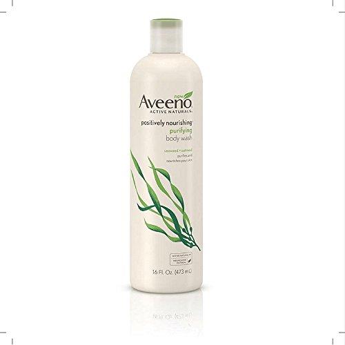 Aveeno Body Wash Positively Nourishing 16oz