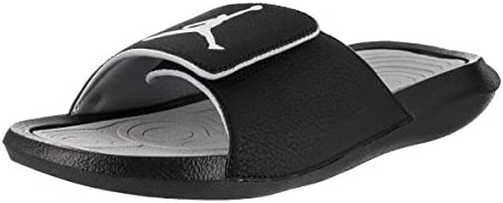 on sale 710a9 e4eb1 Nike Mens Jordan Hydro 6 Black Grey Synthetic Sandals 10 US ...