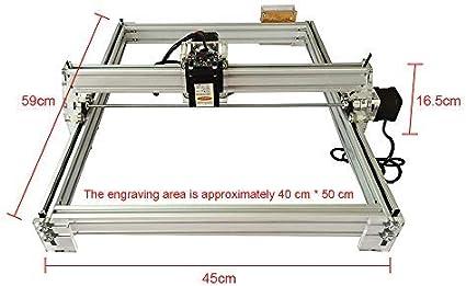 12 V USB Holzschnitzerei Gravur Schneidemaschine DIY Desktop Drucker Logo Bild Kennzeichnung Drucker ETE ETMATE Lasergravur Maschine Kit 30x40 cm, 10