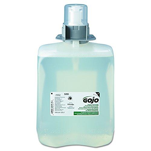 GOJO 5265-02 2000 mL Green Certified Foam Hand Cleaner,  FMX-20 Refill(Case of 2)