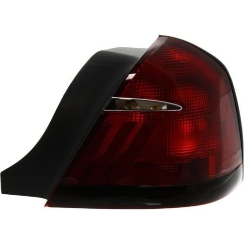 Go-Parts » OE Replacement for 1999-2002 Mercury Grand Marquis Rear Tail Light Lamp Assembly Housing/Lens/Cover - Right (Passenger) Side XW3Z 13404 AA FO2819124 for Mercury Grand Marquis