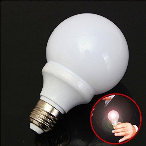 Toygat New Magic Light Bulb Magnetic Control Trick Costume Joke Mouth LED -