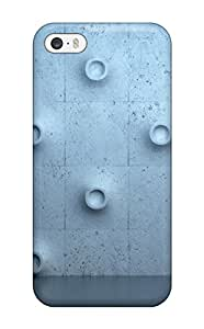 Excellent Design Wall Bulge Flooring Texture Iphone 5 Case Cover For Iphone 5/5s