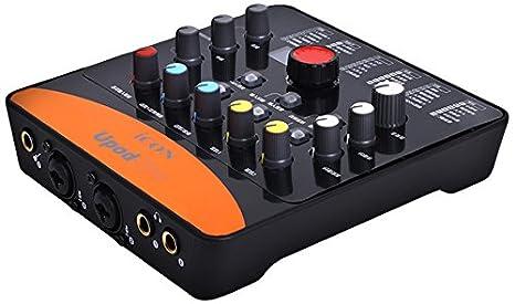 Amazon.com: iCON Upod Pro - Tarjeta de sonido externa (USB ...