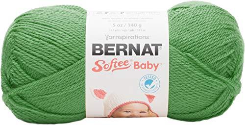 Bernat Softee Baby Yarn, 5 oz, Grass Green, 1 Ball -
