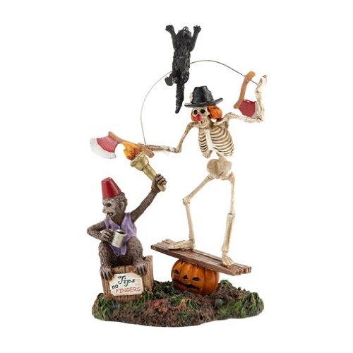 Department 56 Halloween Village Funny Bones 2013