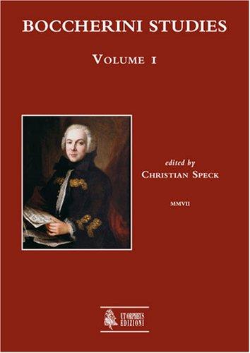 Boccherini studies: 1 C. Speck