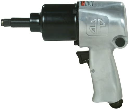 Astro 1812L 1 2-Inch Impact Wrench with 2-Inch Anvil, Twin Hammer