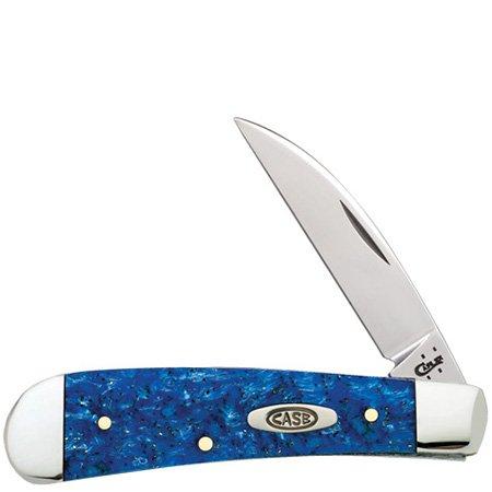 Case Blue Sparkle Sway Back Pocket Knife