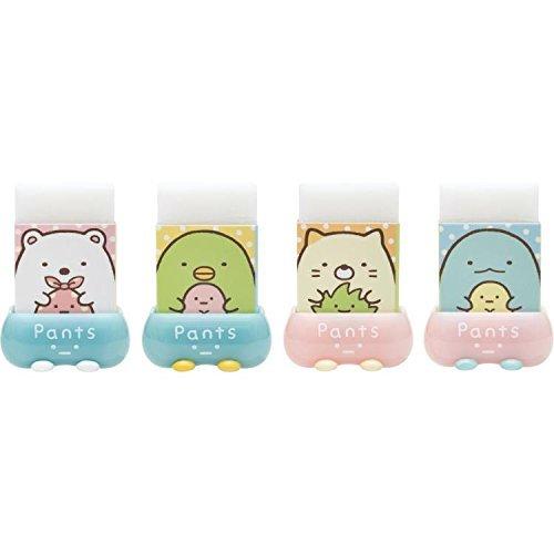 San-X Sumikko Gurashi Matomaru kun Eraser Lot of 4 set polar bear by SAN (SAN-X) (Image #1)