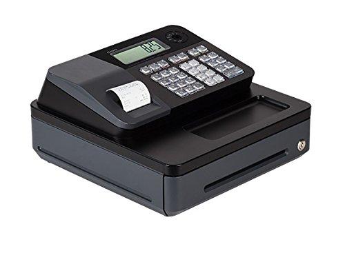 Casio PCR-T273 Electronic Cash Register - works on 120 V, 50/60Hz supply & needs memory backup batteries