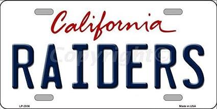 amazon com raiders california novelty state background vanity