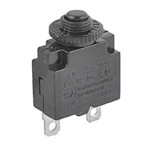 125 250vac 10a 2 pins circuit breaker thermal. Black Bedroom Furniture Sets. Home Design Ideas