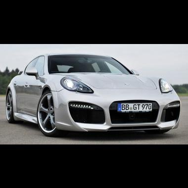Porsche Panamera TechArt Grand GT Style Front Bumper Look