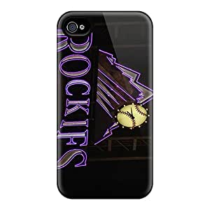 AlissaDubois Iphone 6 Anti-Scratch Hard Phone Cases Customized High-definition Colorado Rockies Series [HlX7019kBvL]