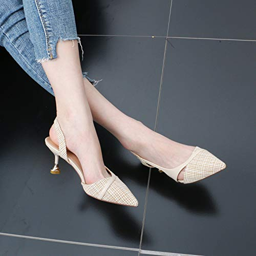 And Fashion 7Cm Is Fine Simple And Heel Fresh Women'S Shoes Small High women's MIG GTVERNH Color shoes Summer Fashion Sharp Matching xYPZqP