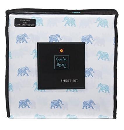 Amazon.com: Cynthia Rowley Bedding Lucky Elephant Three (3) Piece