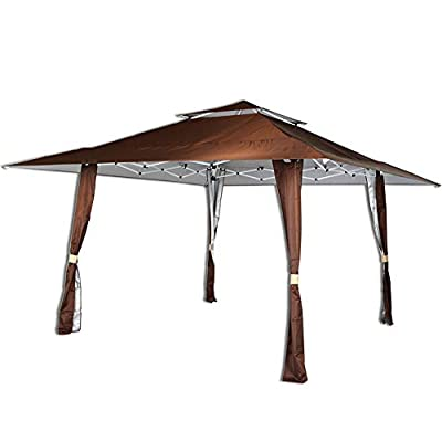 AOODA Gazebos 13' x 13' Pop Up Canopy Wedding Outdoor Yard Patio Tent Heavy Duty for Party, BBQ, Garden, Camping
