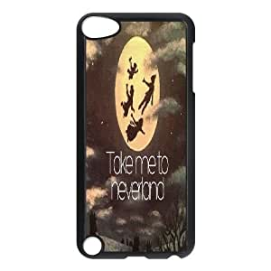 ZK-SXH - take me to Neverland Brand New Durable Cover Case Cover for iPod Touch 5,take me to Neverland Cheap Case