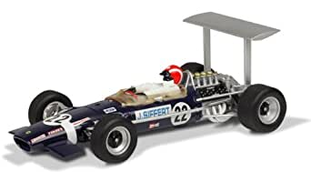 Scalextric Lotus 49B '68 Jo Siffert Slot Car Replica, 1:32 Scale