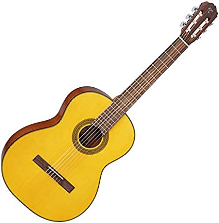 TAKAMINE gc1lh Nat guitarra clásica acústica, zurdos, Natural, gc1lhnat