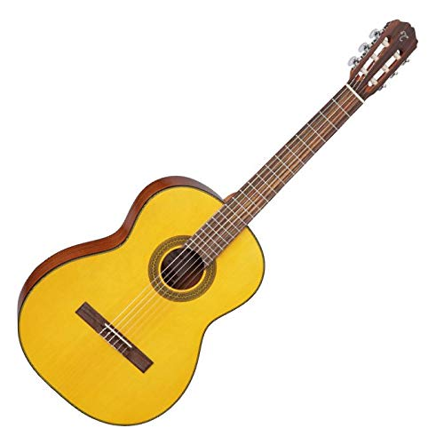 Takamine GC1LH NAT Classical Acoustic Guitar, Left Handed, Natural, GC1LHNAT by Takamine
