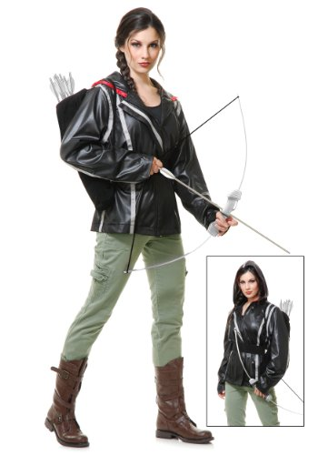 Archer Jacket Adult Costume - (Katniss Everdeen Costume Dress)