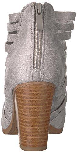 Brinley Co Women's Sevi Ankle Boot Grey nhlrTf4