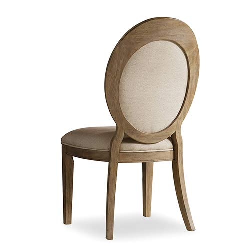 Hooker Furniture Corsica Upholstered Oval Back Dining Chair in Light by Hooker Furniture