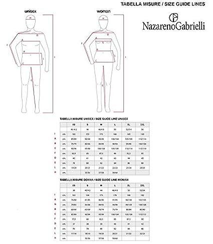 Nazareno Gabrielli Tuta Donna Cotone Felpato Articolo scatolato Disponibile in Due Varianti Colore