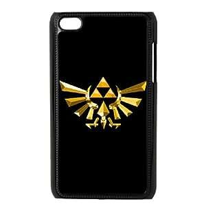 Legend of Zelda 004 iPod Touch 4 Case Black TPU Phone Case RV_626002