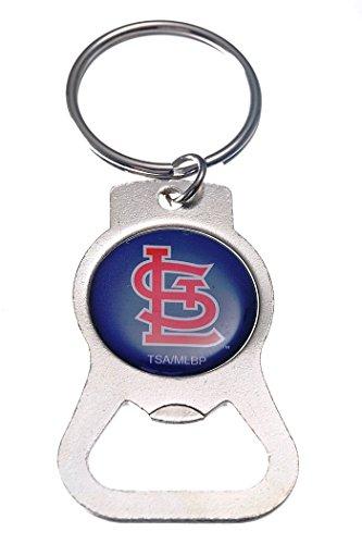 - Rico Industries, Inc. St Louis Cardinals EG Bottle Opener Key Chain Decal Emblem Keychain Baseball